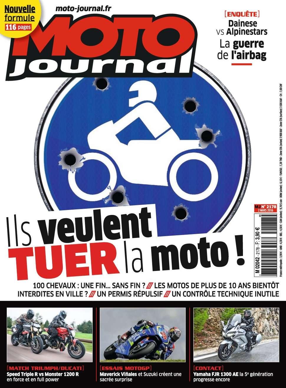 Moto Journal 2178 - 2 au 8 Mars 2016