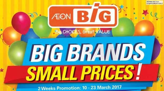 Aeon Big Catalogue (10 March - 23 March 2017)
