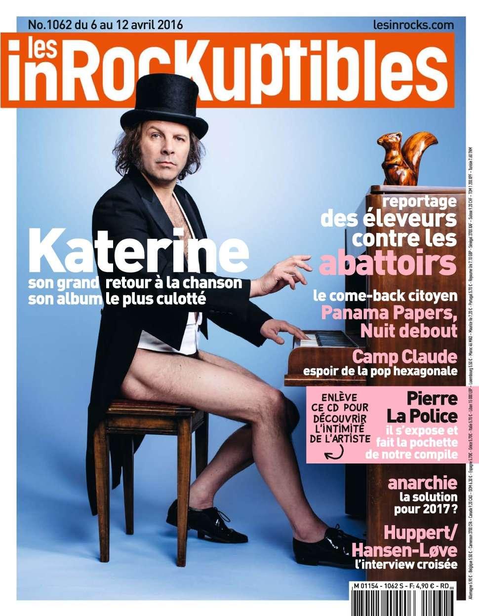 Les Inrockuptibles 1062 - 6 au 12 Avril 2016