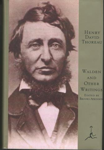 Walden and Other Writings (Modern Library of the World's Best Books), Thoreau, Henry David