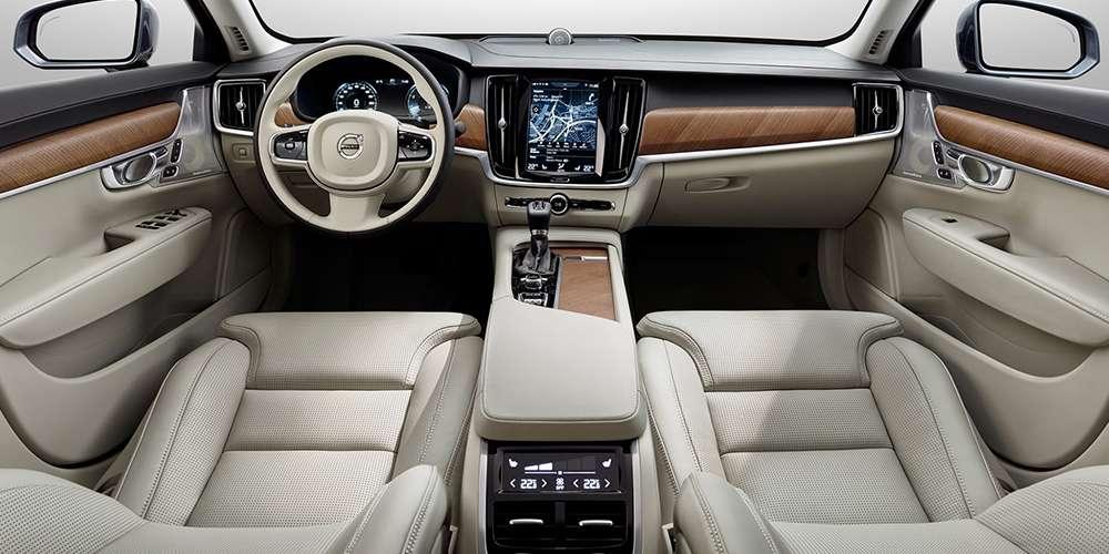 2017 Volvo S90 Interior Leather Seats