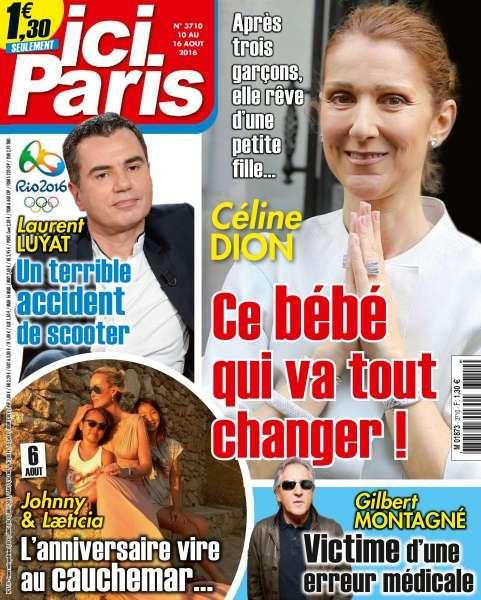 Ici Paris 3710 - 10 au 16 Août 2016