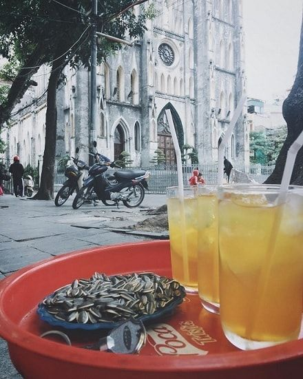 lemon-tea-hanoi-cathedral