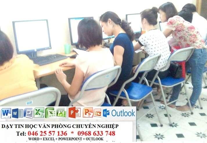 Dạy kèm tin học văn phòng tại nhà ở Hà Nội