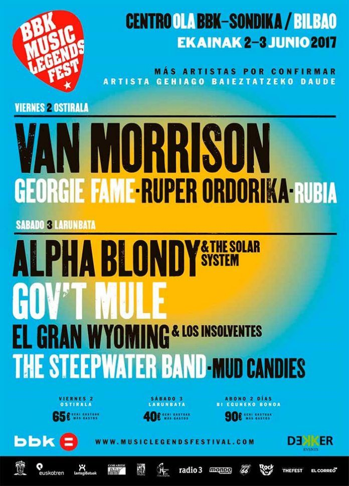 BBK Music Legends Fest - cartel