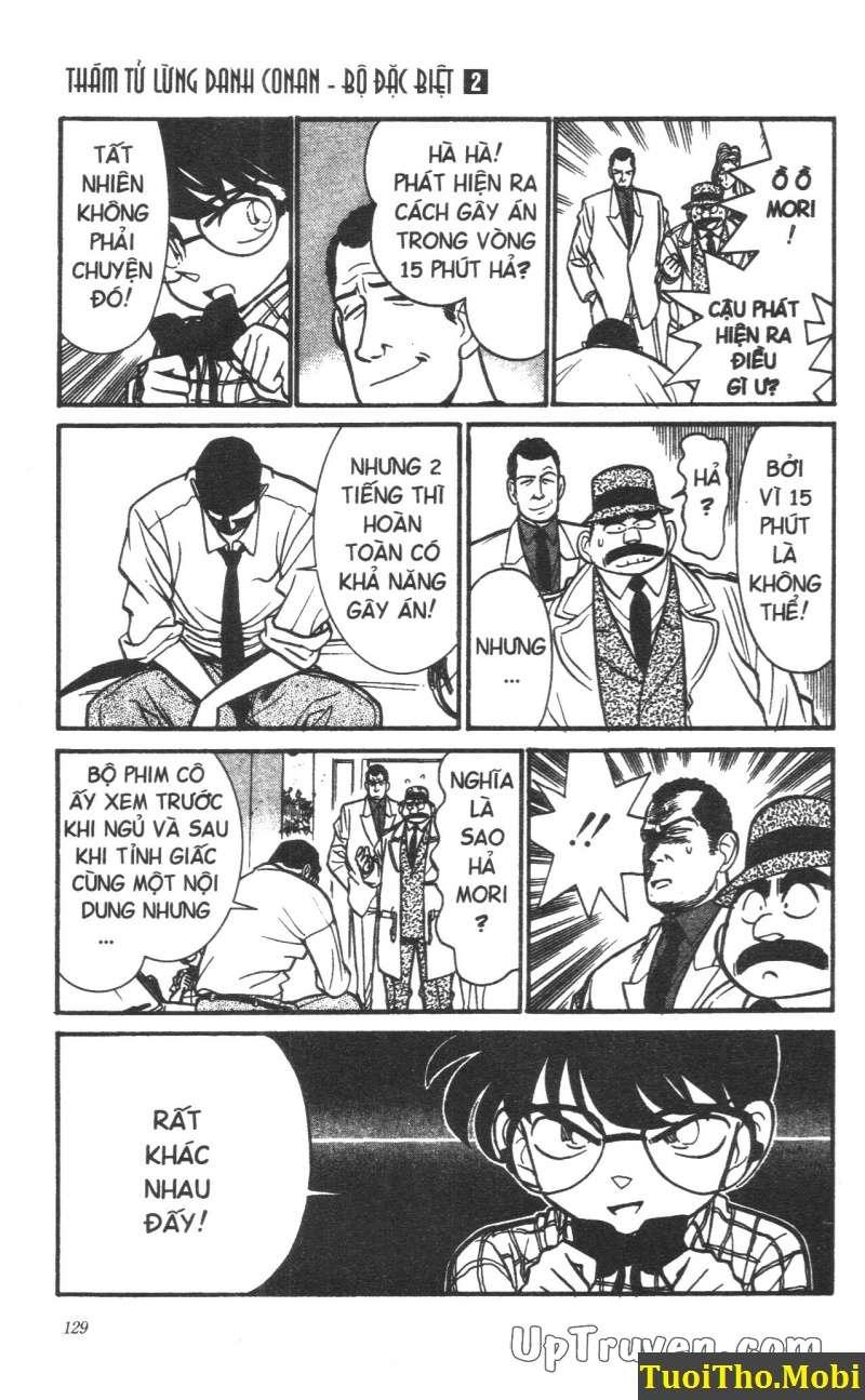 đọc truyện Conan bộ đặc biệt chap 15 trang 14