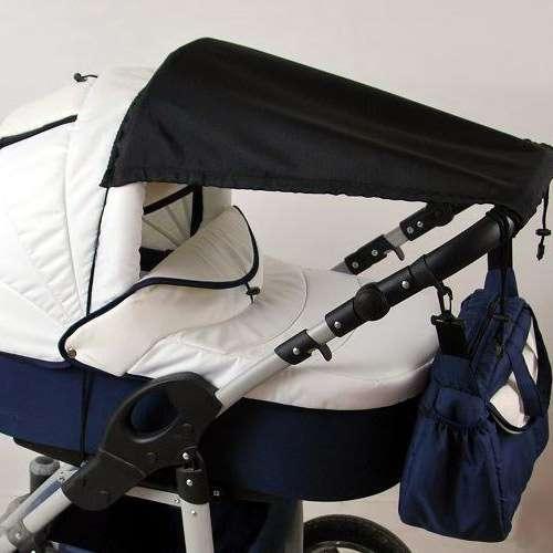 babylux sonnenschutz sonnensegel f r kinderwagen buggy uv schutz uni. Black Bedroom Furniture Sets. Home Design Ideas