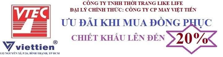 ưu đãi mua đồng phục Việt Tiến
