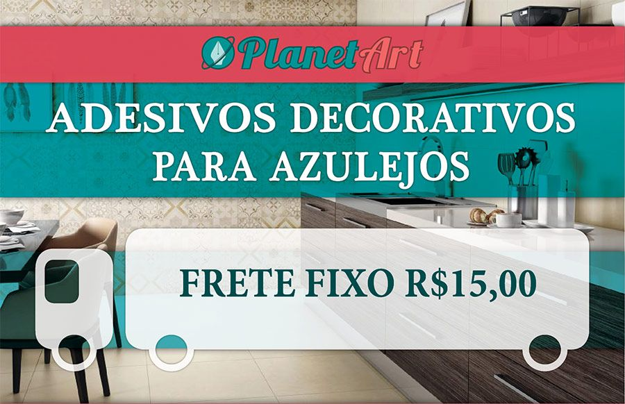 Adesivo Azulejo Português Vinil Ladrilho Hidráulico! 15x15 em São Bernardo do Campo