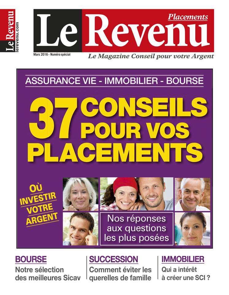 Le Revenu Placements - Mars 2016