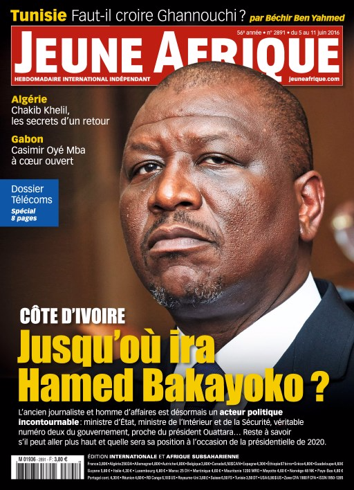 Jeune Afrique 2890 - 5 Juin 2016