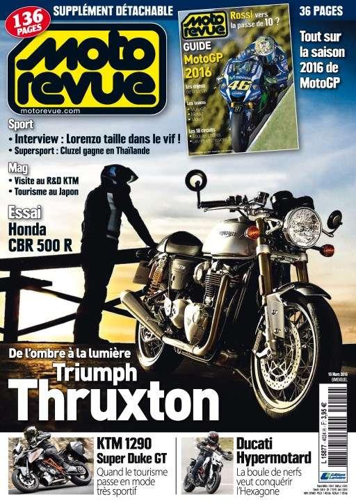 Moto Revue 4024 - 16 Mars 2016