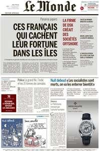 Le Monde du Jeudi 7 Avril 2016