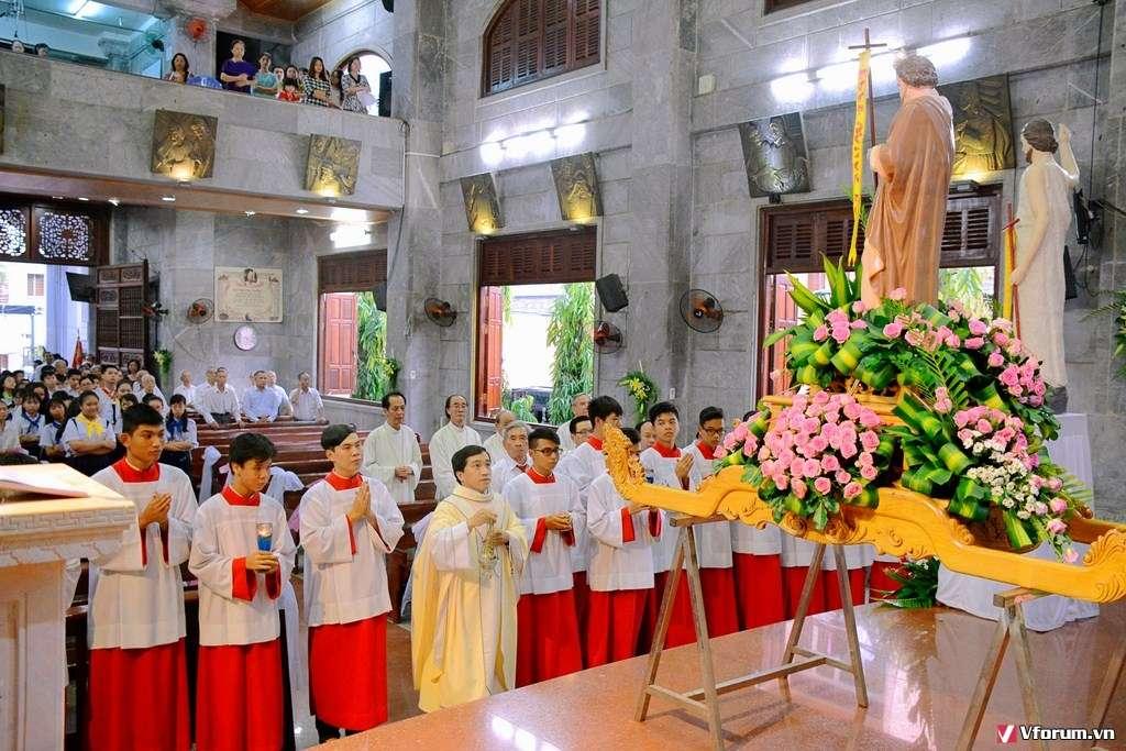 Giáo xứ Vĩnh Hoà: Mừng lễ bổn mạng