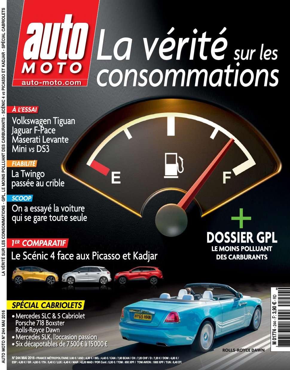 Auto Moto 244 - Mai 2016