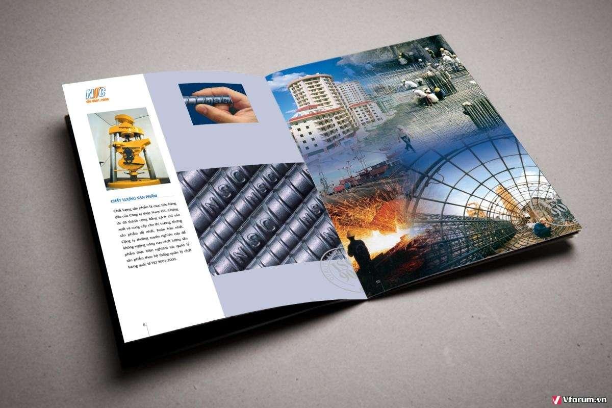 In catalogue giá rẻ chất lượng cho các doanh nghiệp