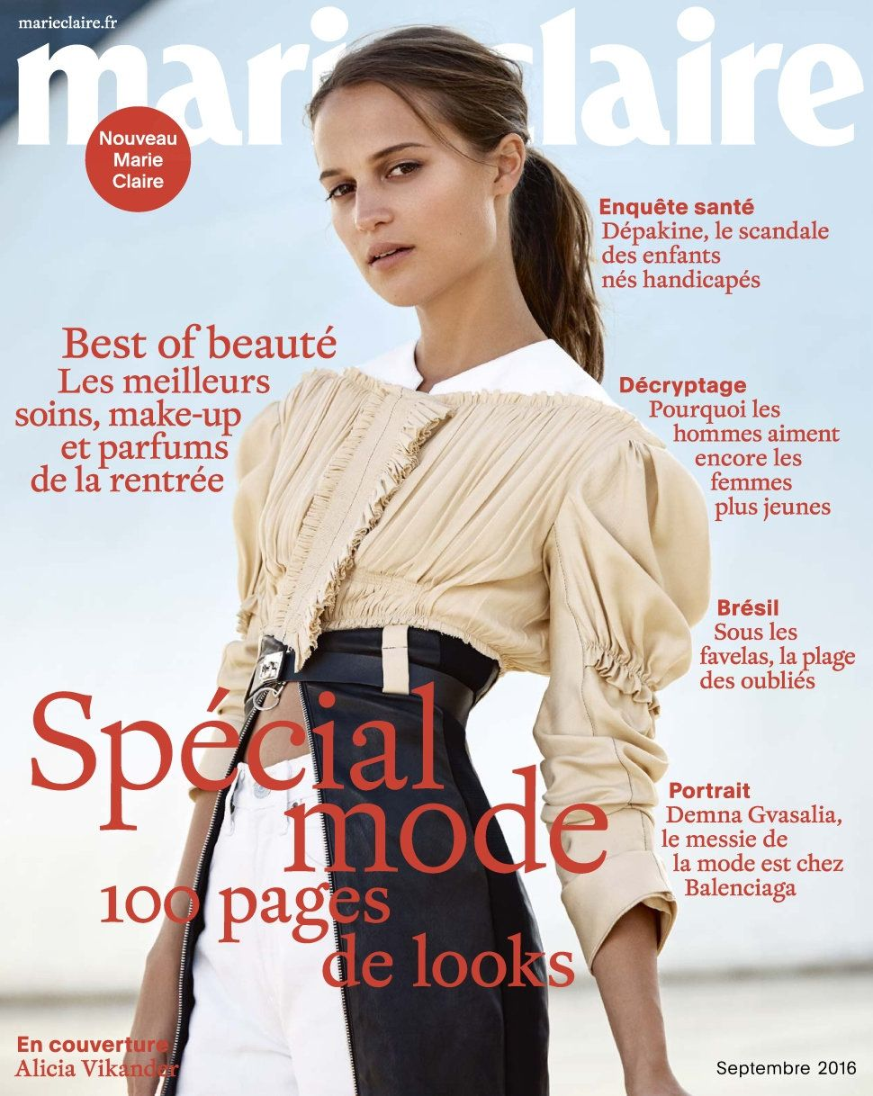 Marie Claire 769 - Septembre 2016