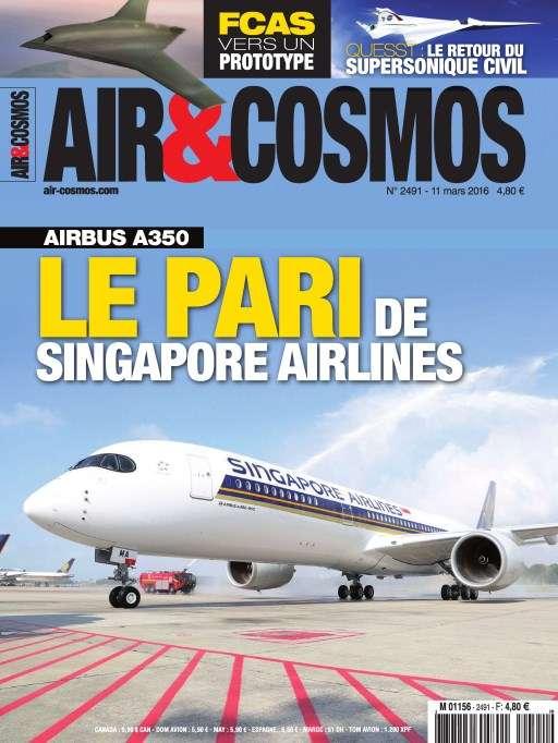 Air et Cosmos 2491 - 11 au 17 Mars 2016