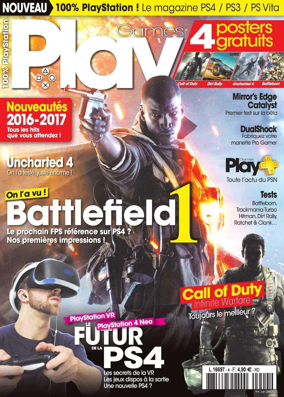 PlayGames 4 - Juin/Juillet 2016