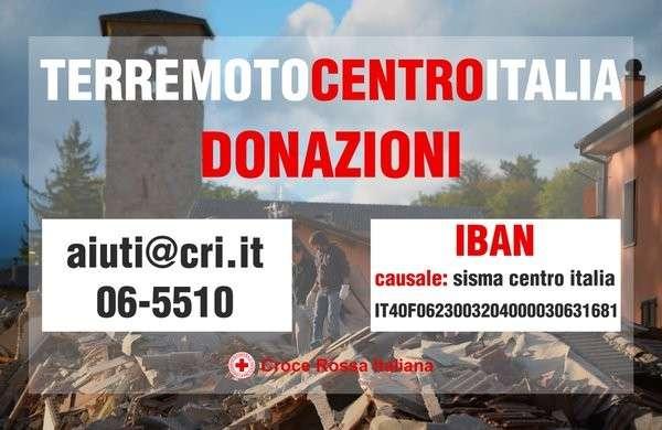 Un pensiero per le vittime del terremoto del centro italia