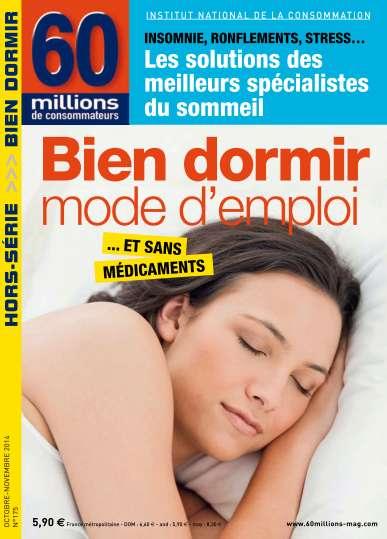 60 millions de consommateurs Hors Série - Bien dormir Mode d'emploi