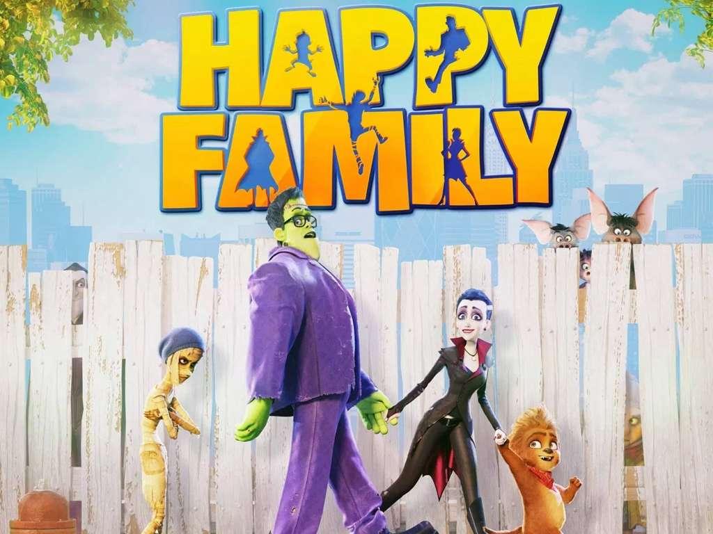 Μια Χαρούμενη Οικογένεια (Happy Family) Quad Poster Πόστερ