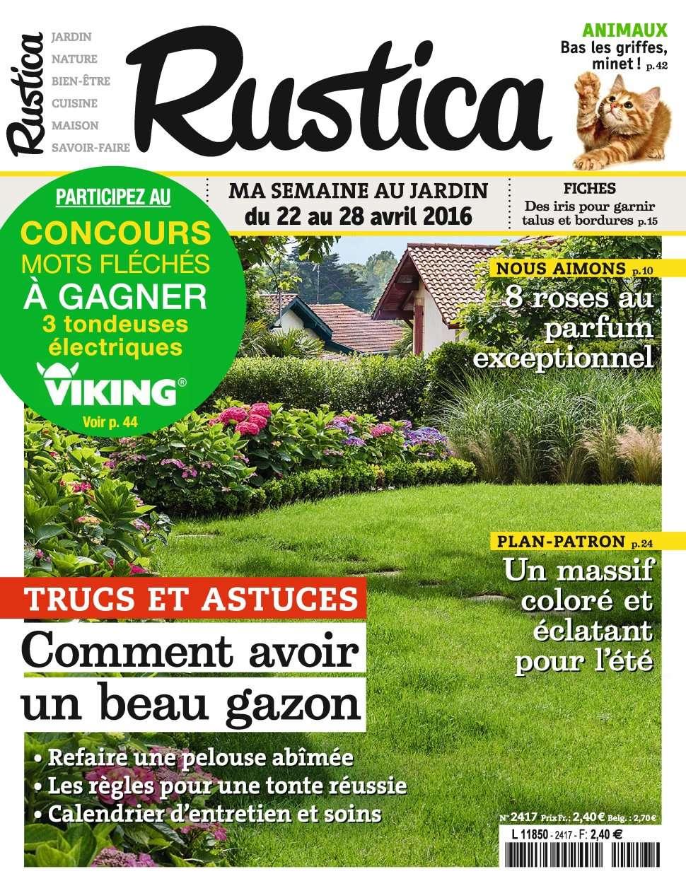 Rustica 2417 - 22 au 28 Avril 2016