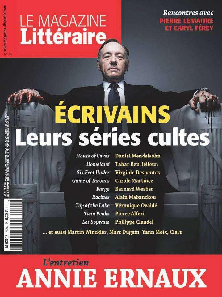 Le Magazine Littéraire - Mai 2016