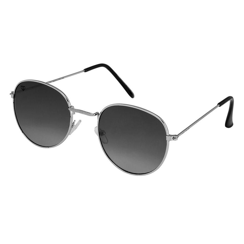 Walrus Royal Black Color Unisex Oval Sunglass - WS-RYL-020707