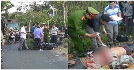Bình Tân lại dậy sóng: Vừa về gần nhà thanh niên bị cắt đầu lìa khỏi cổ cạnh xe máy Raider