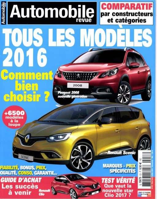 Automobile revue 53 - Mai/Juin/Juillet 2016