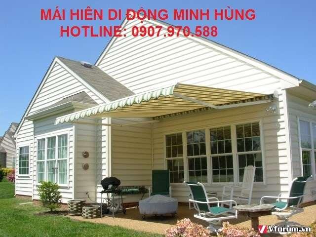 Mai hien che di dong quan Binh Thanh 12 trang tri quan xa