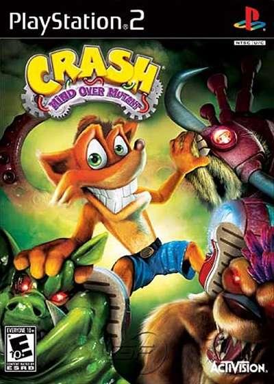 Crash: Mind Over Mutant (2008) [PS2]