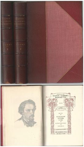 The Poems of Dante Gabriel Rossetti, with Illustrations from His Own Designs: 2 Volumes, Dante Gabriel Rossetti