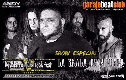 Aquelarre Metalrock Fest - la skala de richter