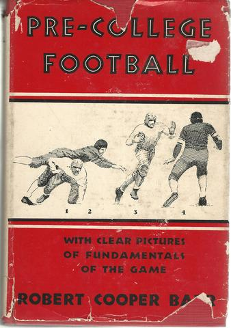 Pre-College Football, Barr, Robert Cooper
