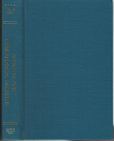 Rhode Island Genealogical Register Vol 12 by Alden G. Beaman by Alden G. Beaman by Alden G. Beaman, Alden G. Beaman
