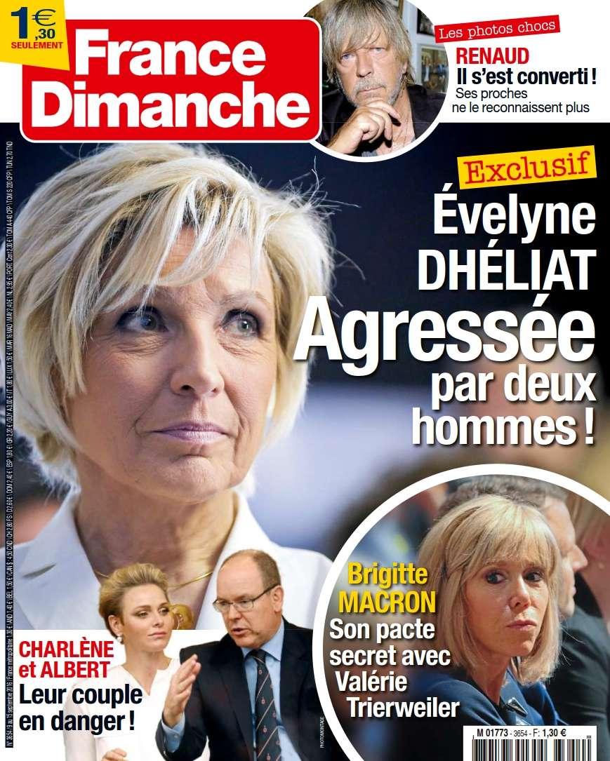 France Dimanche - 09 au 15 Septembre 2016