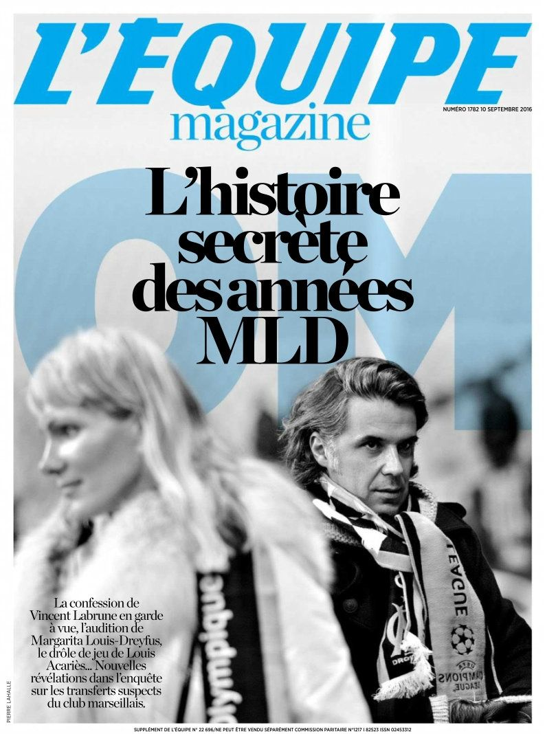 L'Equipe Magazine – 10 Septembre 2016