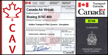 Boeing B747-400 Certification Flight