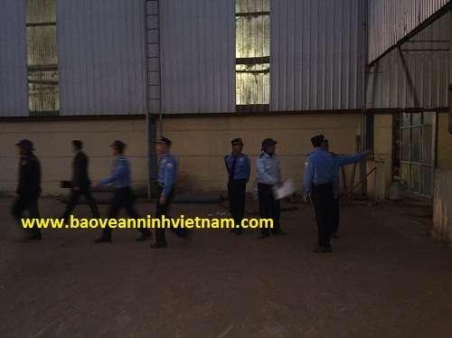 Triển khai bảo vệ nhà máy gỗ Thanh Nam tại Thanh Hóa