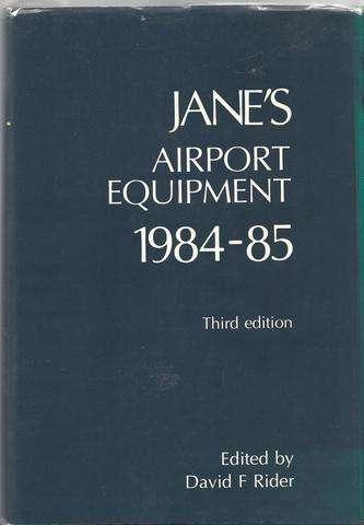 Jane's Airport Equipment 1984-85 (Jane's Yearbooks)