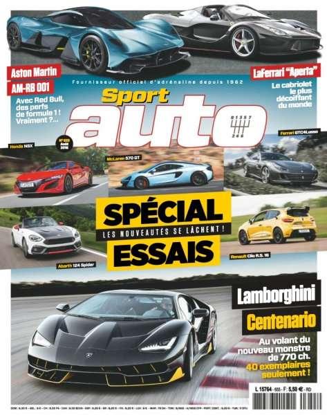 Sport Auto 655 - Août 2016