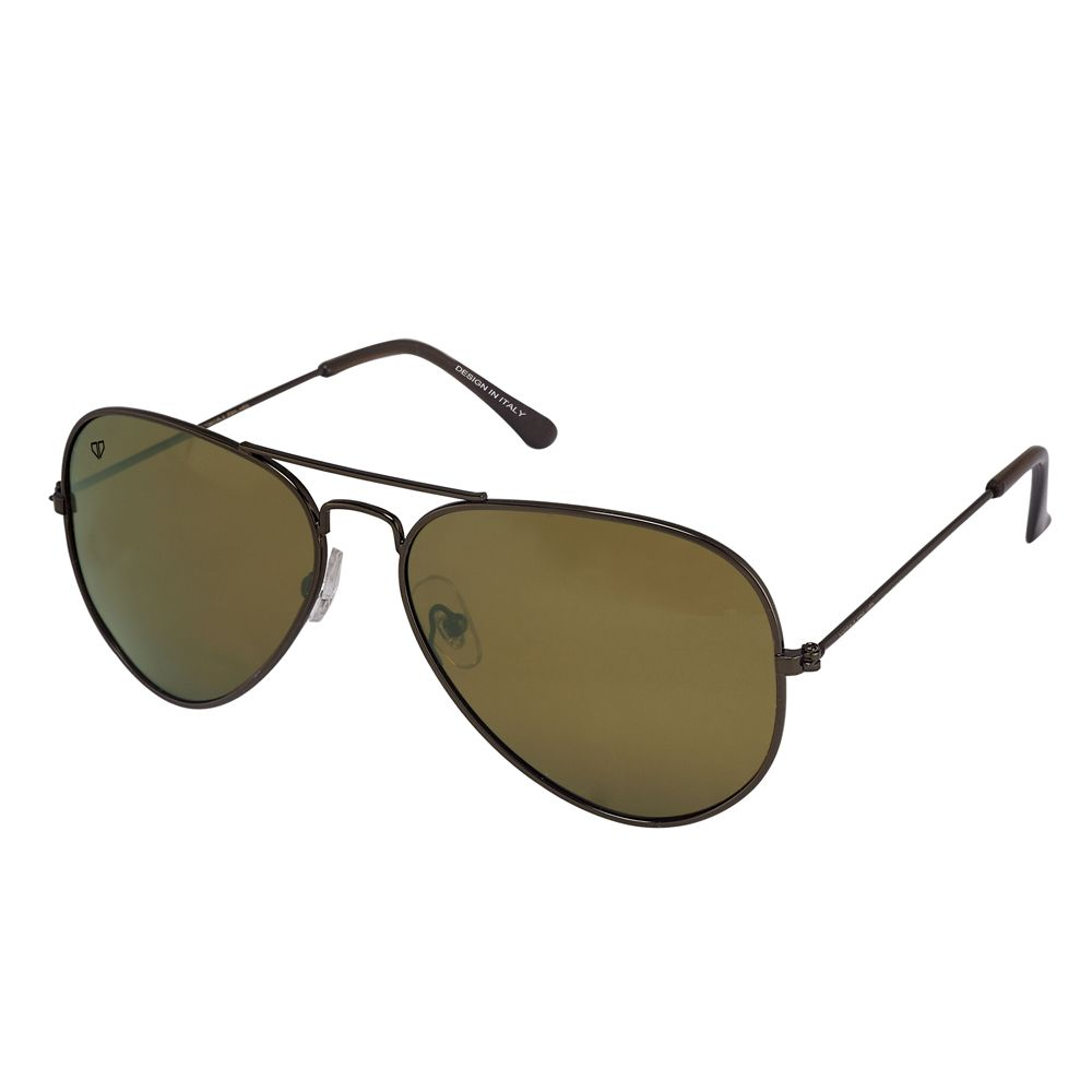 Walrus Aristrocrat Brown Color Unisex Aviator Sunglass - WS-AST-090909