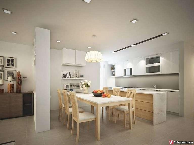 Thiết kế phòng bếp tuyệt đẹp – tiện nghi cho các căn hộ chung cư Việt Nam