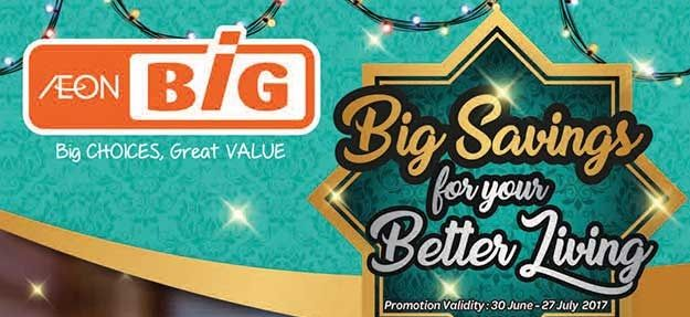 Aeon Big Catalogue (30 June - 27 July 2017)