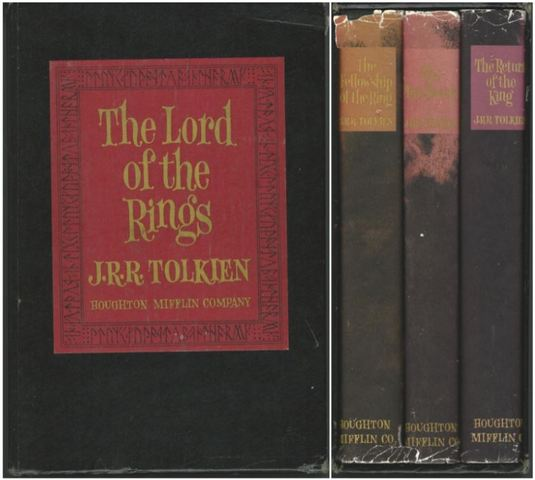 Lord of the Rings 2ND U S Edition Revised 3 Volum, Tolkien, J R R