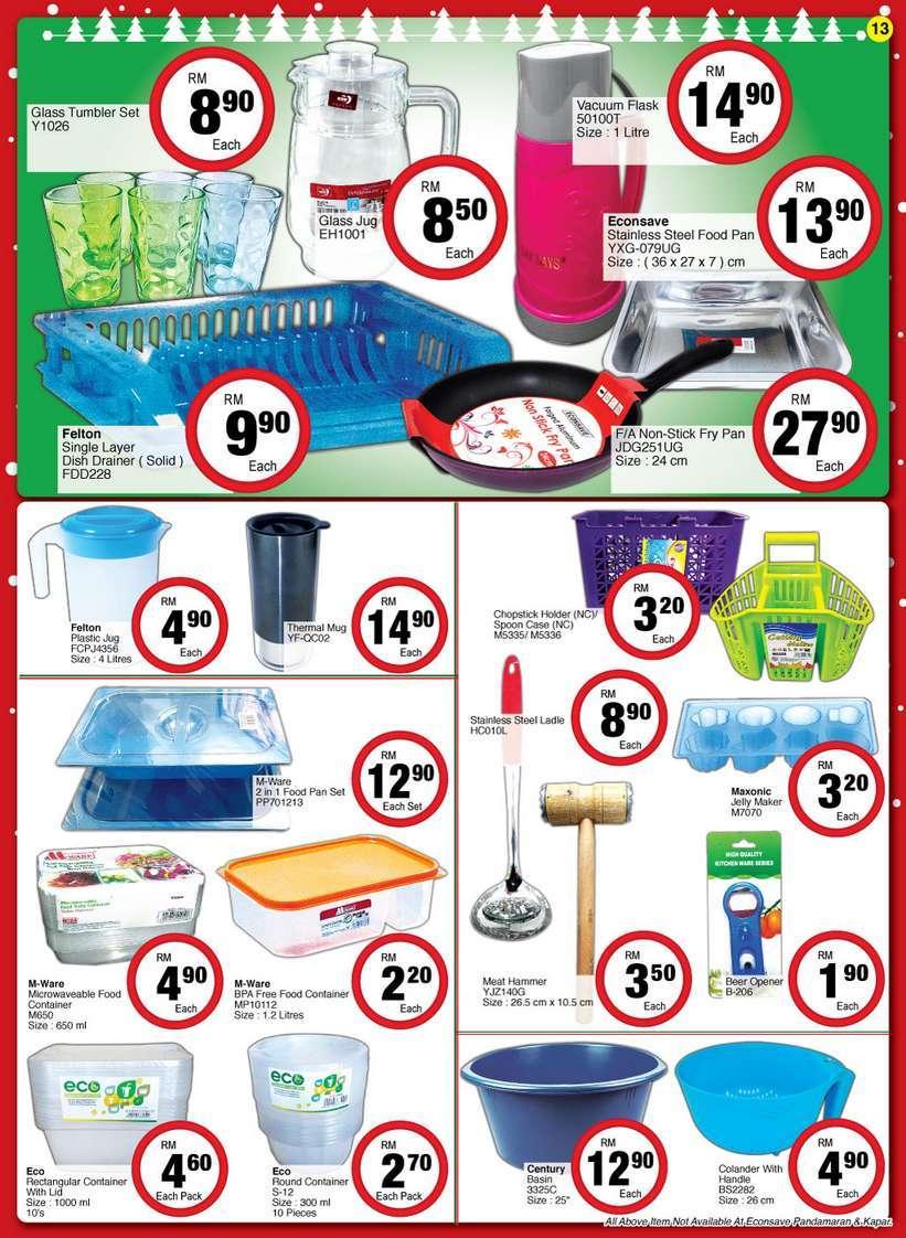 EconSave Catalogue (9 December - 20 December 2016)