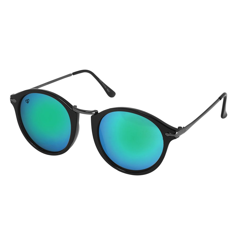 Walrus Jackson Multicolor Mirror Color Unisex Oval Sunglass- WS-JKSN-II-210218