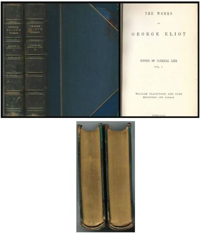 Scenes of Clerical Life (complete in two volumes - Standard Edition The Works of George Eliot)